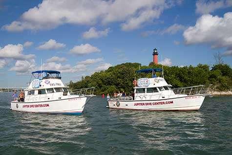 Jupiter Dive Center Boats