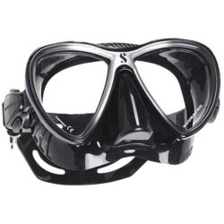 SYNERGY TWIN DIVE MASK Black Silver